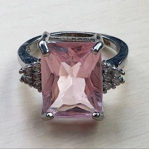 Jewelry - 925 Morganite Ring